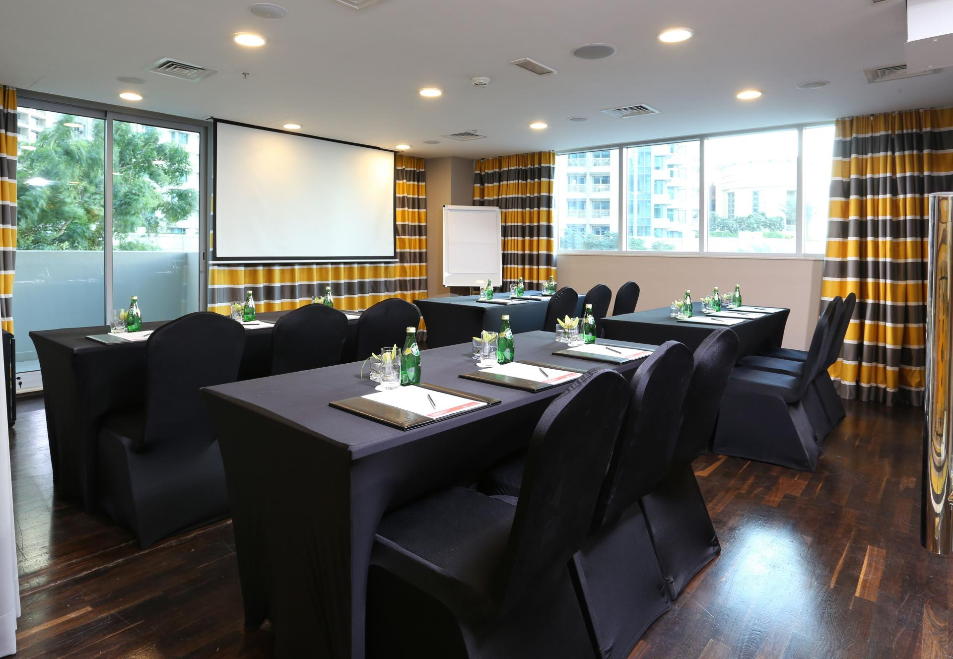 Meeting room at Ramada Downtown Dubai Apartments - Citybase Apartments