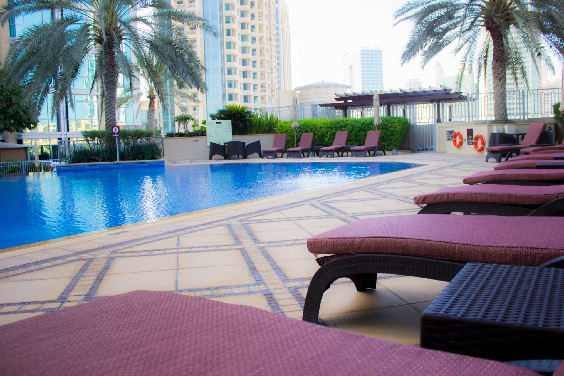 Pool at Ramada Downtown Dubai Apartments - Citybase Apartments