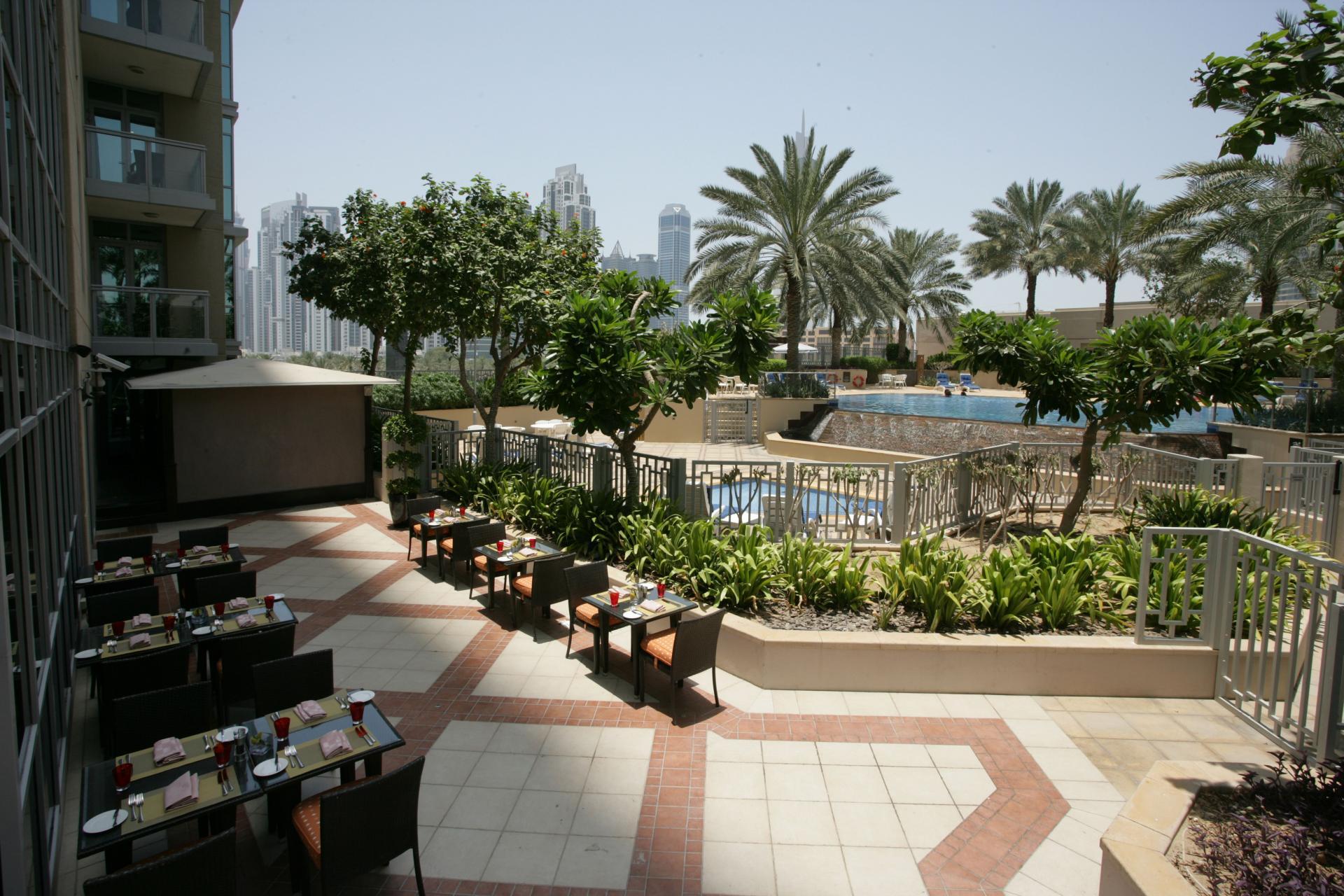 Restaurant at Ramada Downtown Dubai Apartments - Citybase Apartments