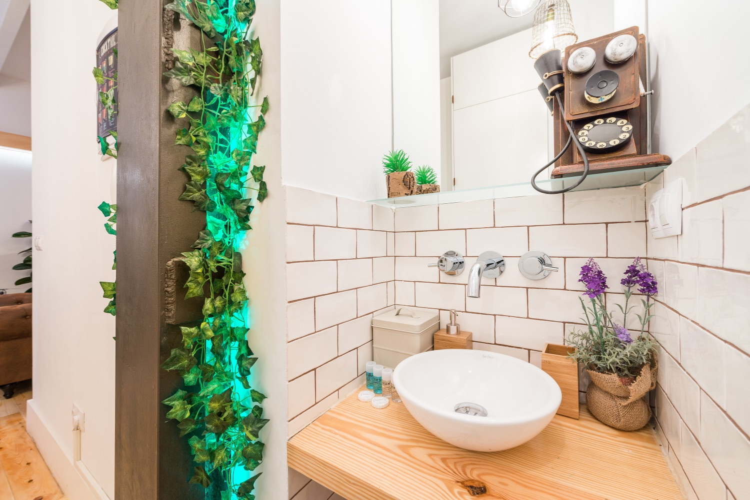 Sink at Atocha Nest Apartment - Citybase Apartments