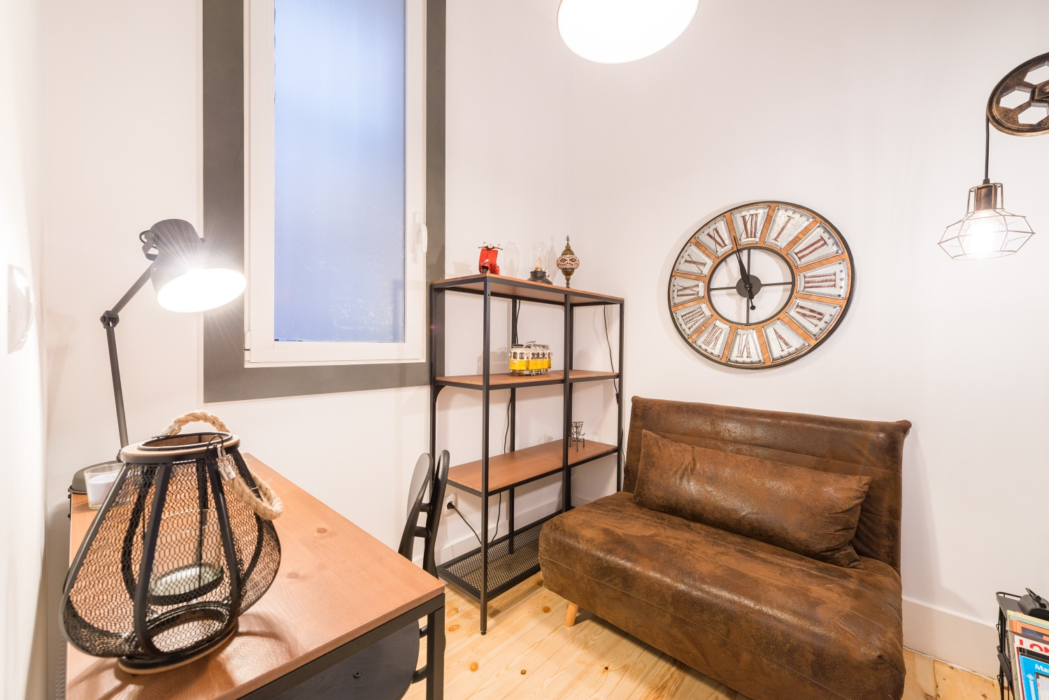 Chair at Atocha Nest Apartment - Citybase Apartments