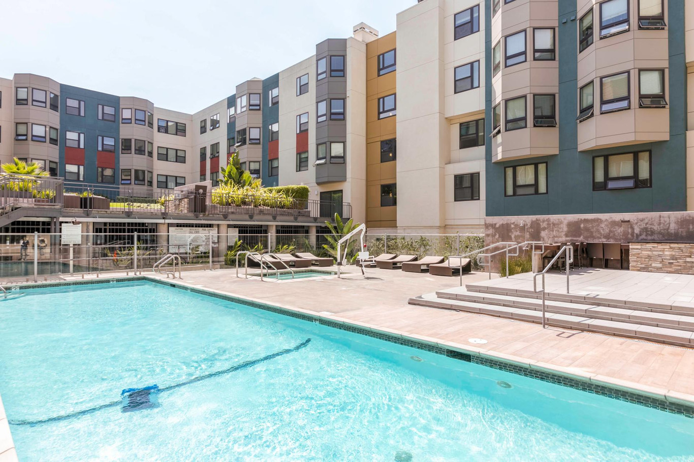 Pool at 2000 Post Street Apartments - Citybase Apartments
