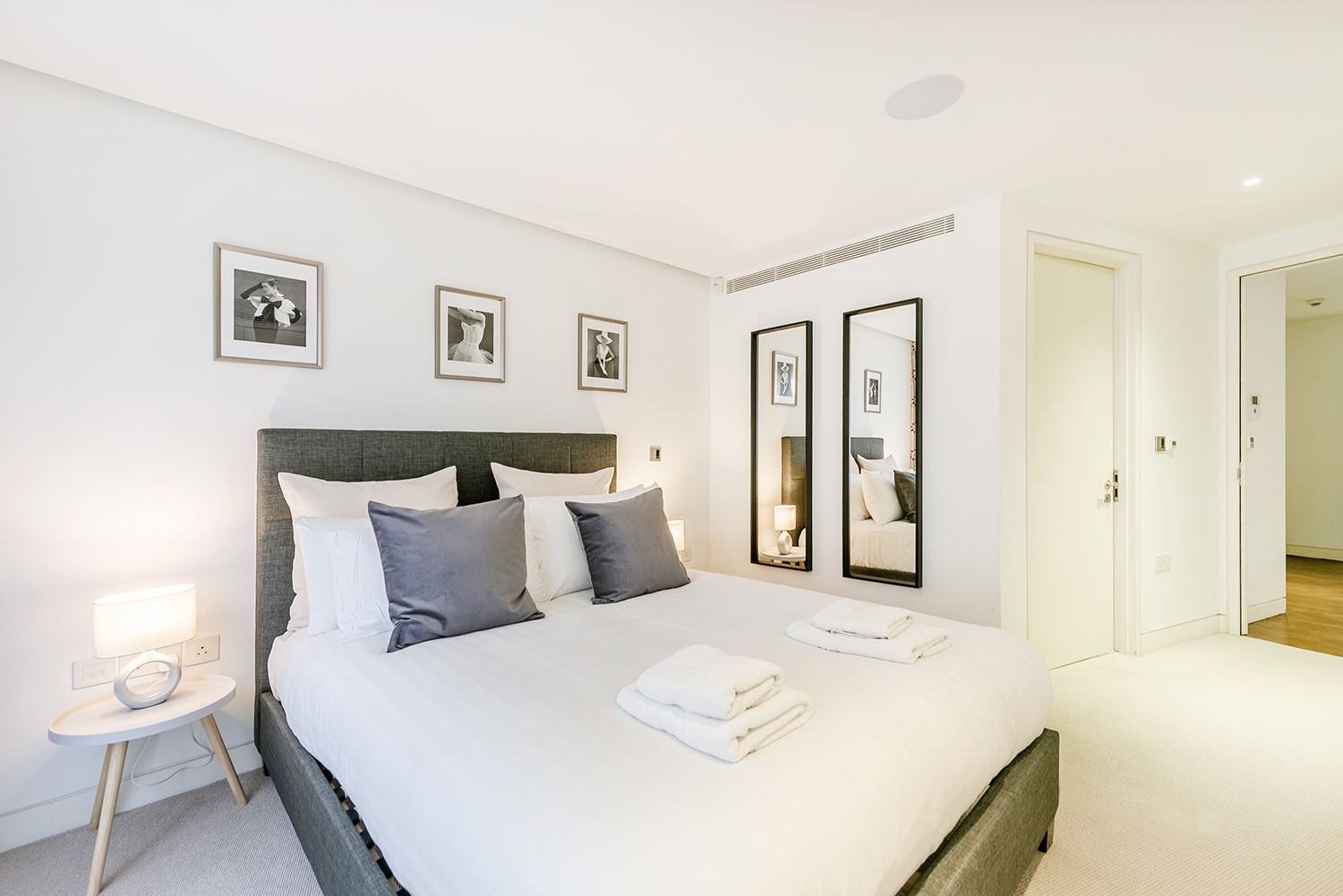Double bedroom at Bedford Court Apartment - Citybase Apartments
