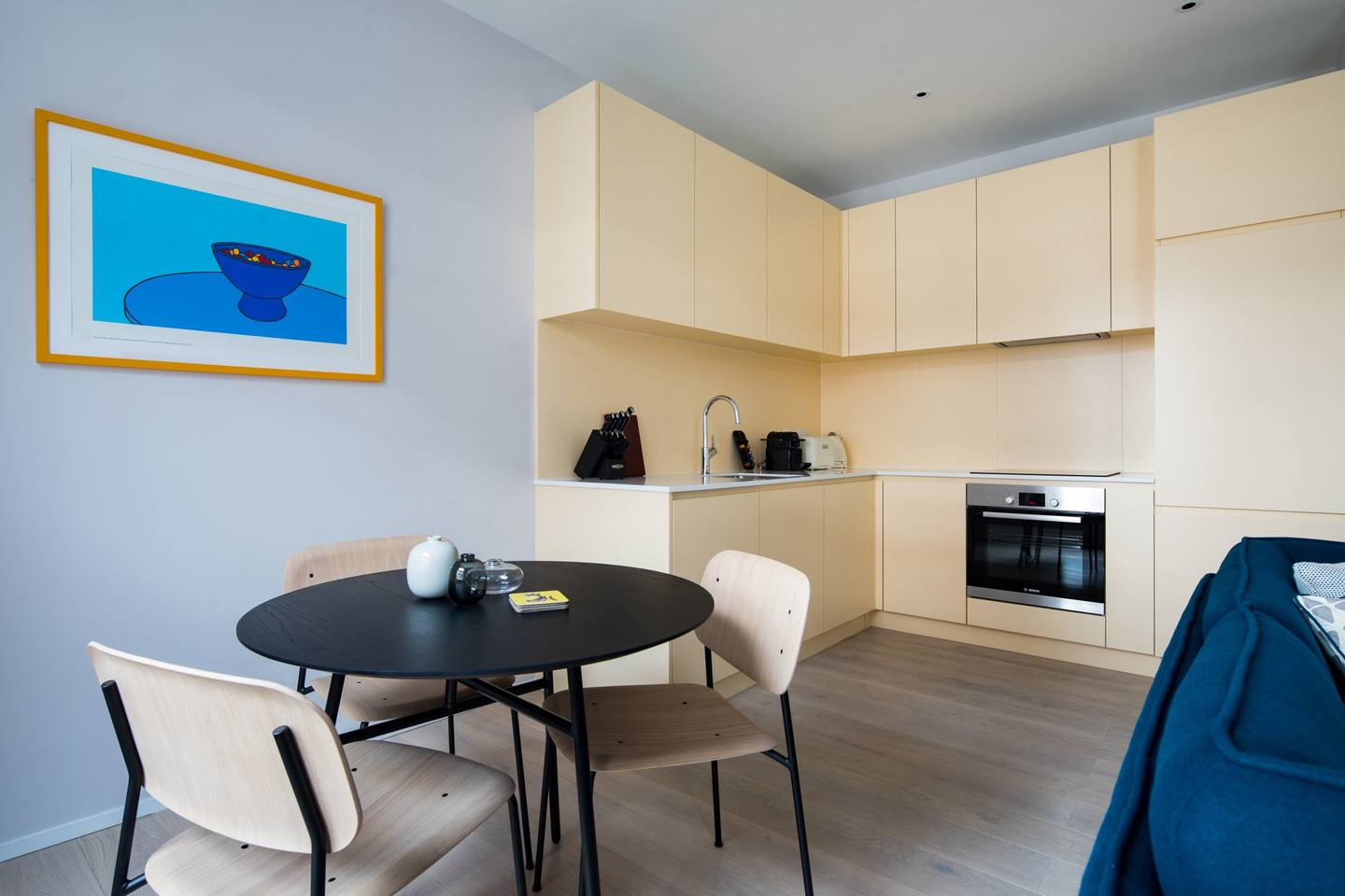 Dining area at The Charterhouse Apartments - Citybase Apartments