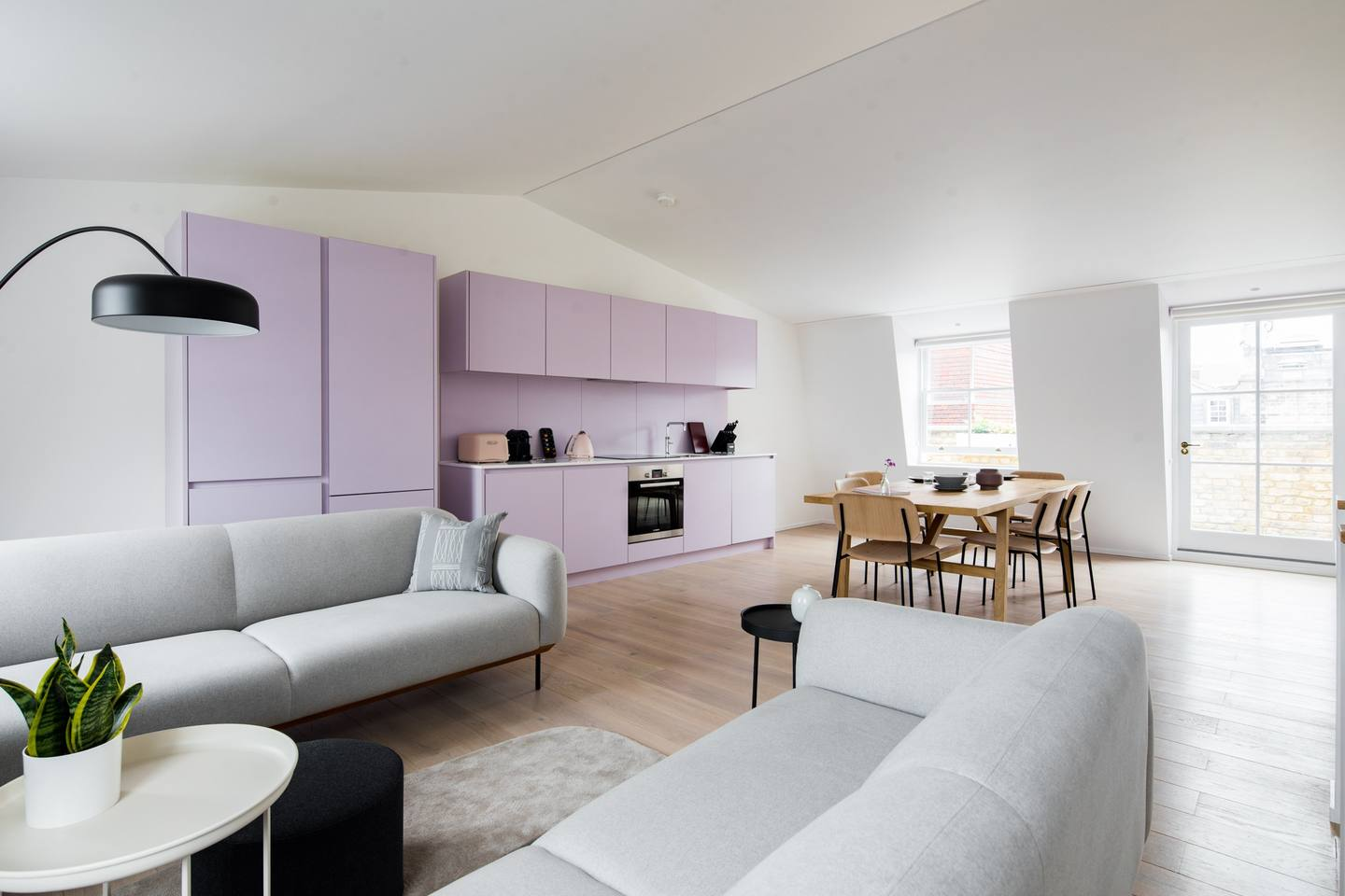 Living space at The Charterhouse Apartments - Citybase Apartments