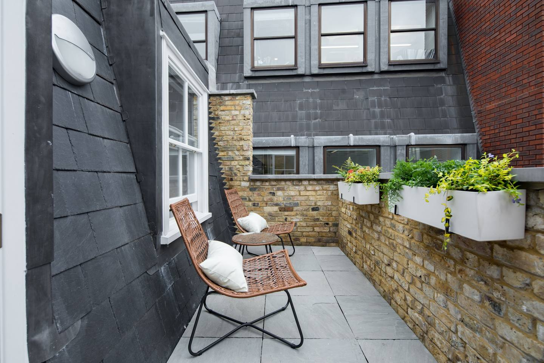 Balcony at The Charterhouse Apartments - Citybase Apartments