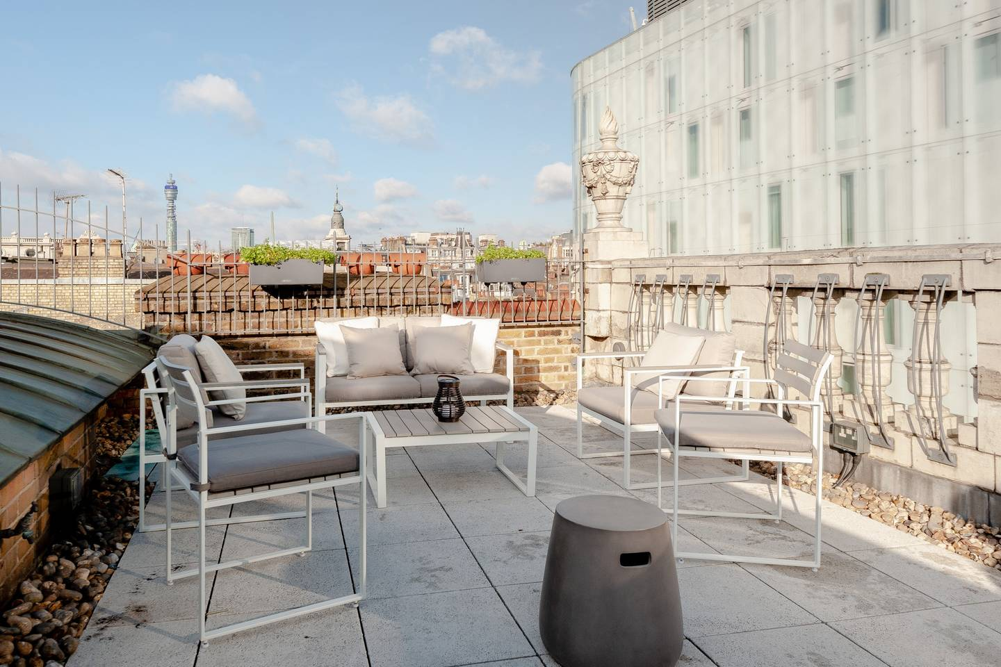 Balcony at Leicester Square Apartments - Citybase Apartments