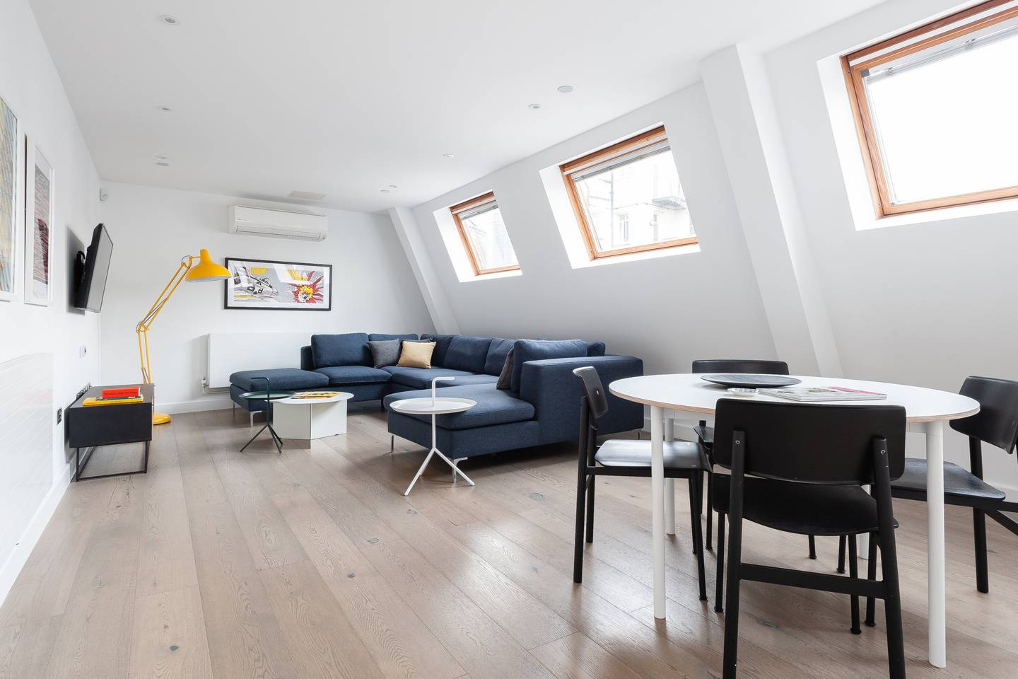 Open space at Leicester Square Apartments - Citybase Apartments