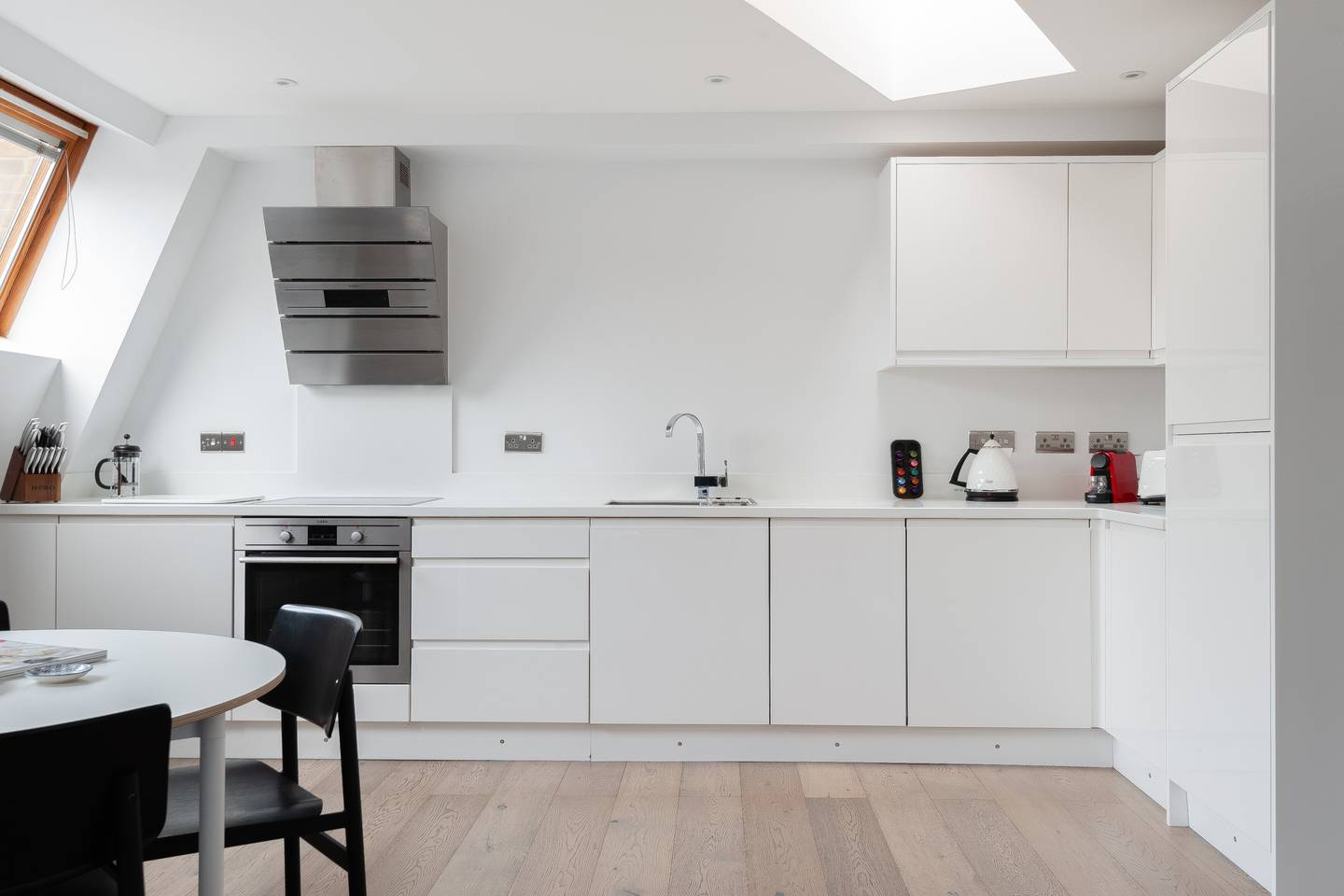 Kitchen space at Leicester Square Apartments - Citybase Apartments