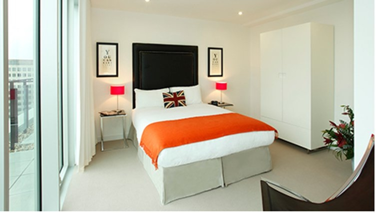 Outstanding bedroom in SACO Waterloo - York Road - Citybase Apartments