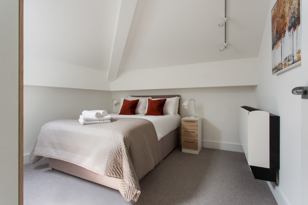 Bedroom at The Atria, Salt Hill, Slough - Citybase Apartments