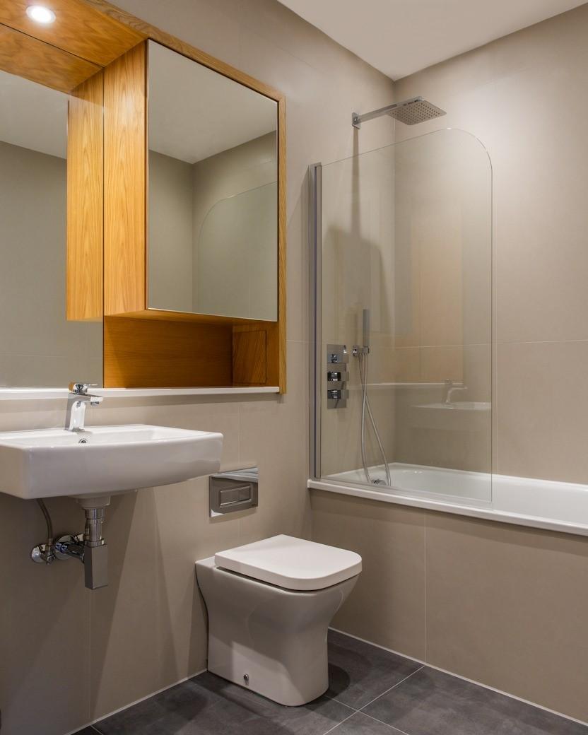 Bathroom at The Atria, Salt Hill, Slough - Citybase Apartments