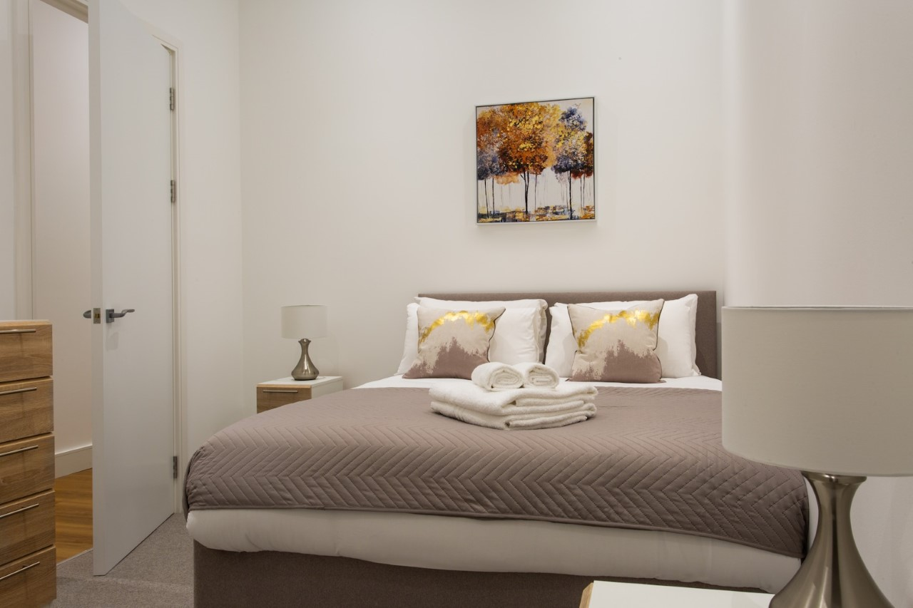 Bed at The Atria, Salt Hill, Slough - Citybase Apartments