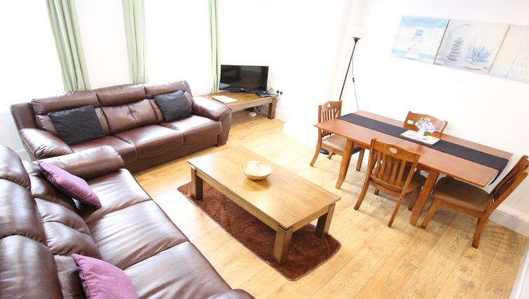 Lounge at William's Sheffield City Centre Apartments - Citybase Apartments