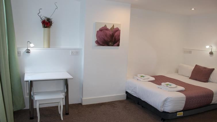 Double bedroom at William's Sheffield City Centre Apartments - Citybase Apartments