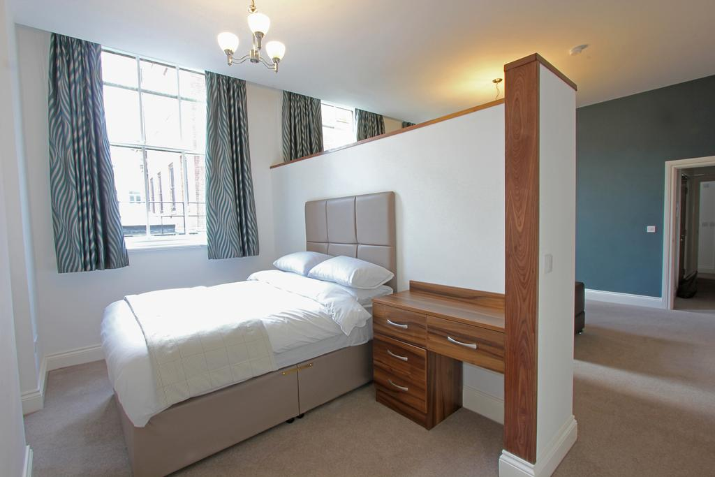 Bedroom at 3 Union Court Apartments - Citybase Apartments