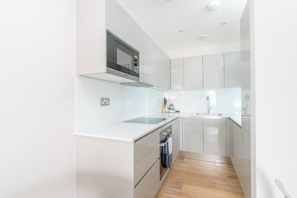 Kitchen at Finchley Road Apartments - Citybase Apartments