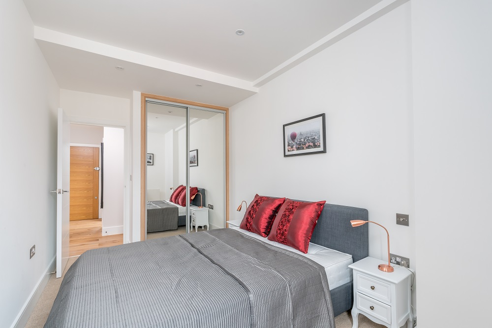 Bed at Finchley Road Apartments - Citybase Apartments