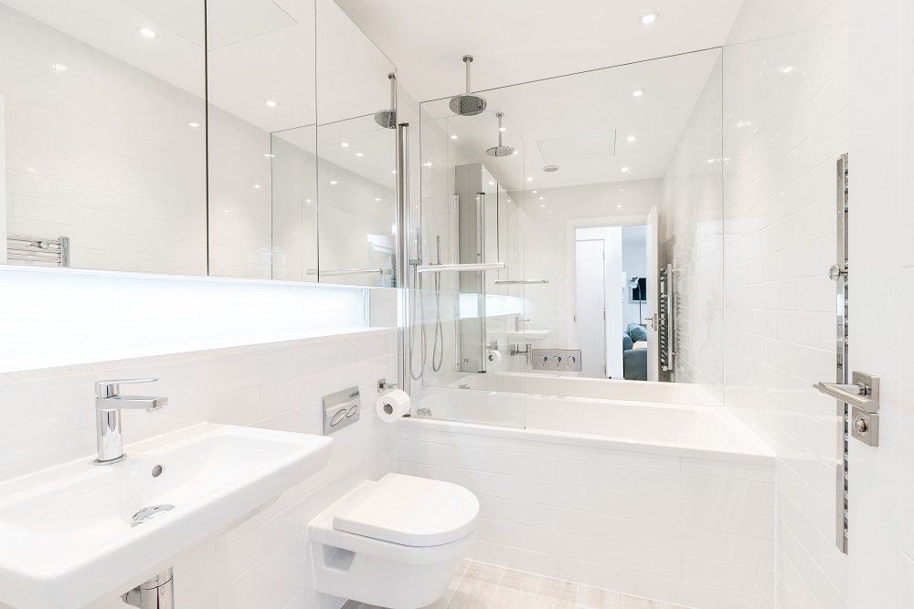 Bathroom at Finchley Road Apartments - Citybase Apartments