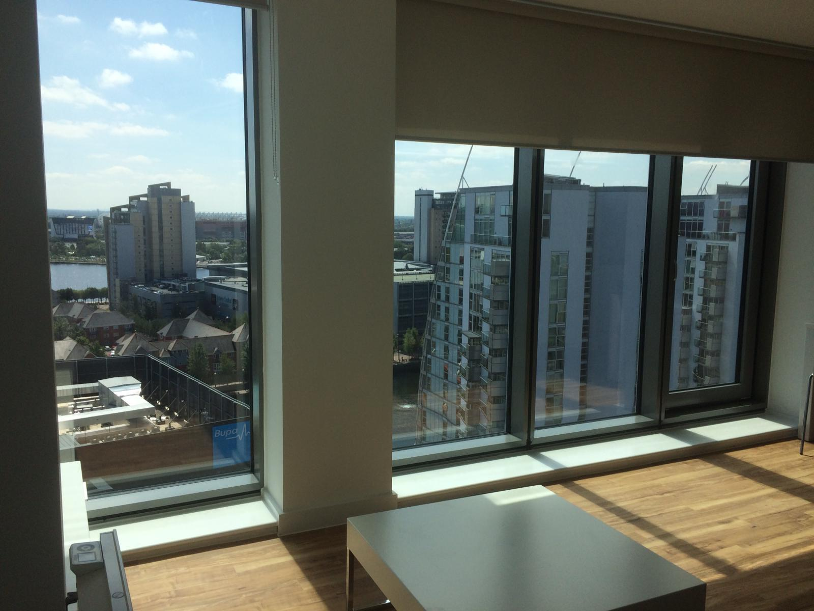 Tall windows at ASA Harbour City X1 Apartments - Citybase Apartments