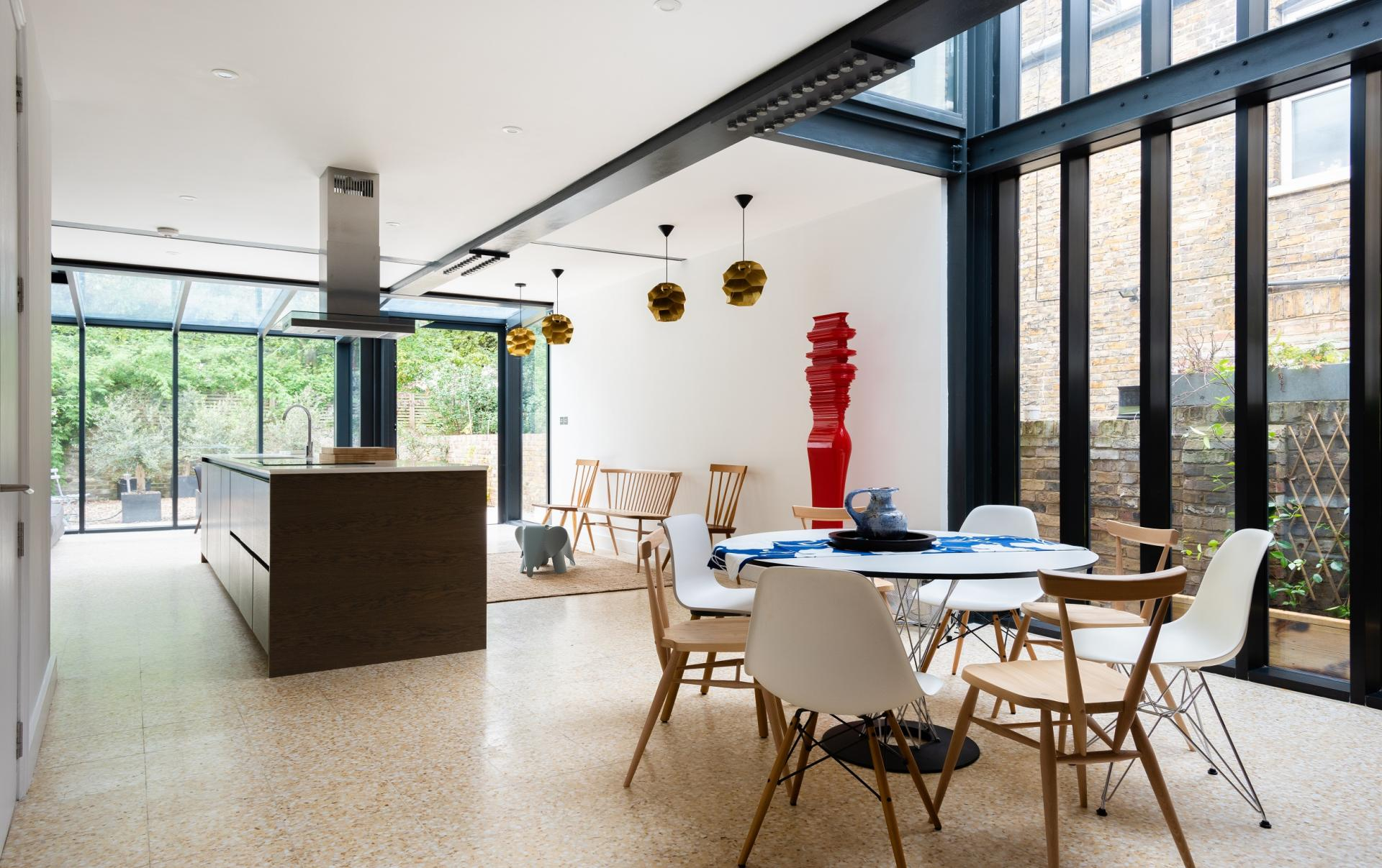 Dining area at The Oxford Gardens, White City, London - Citybase Apartments