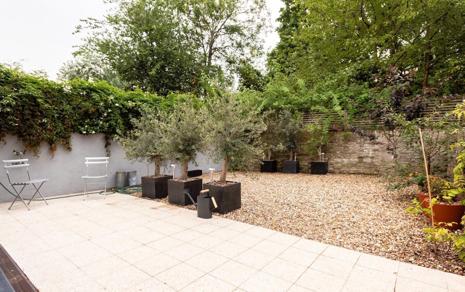 Patio at The Oxford Gardens, White City, London - Citybase Apartments