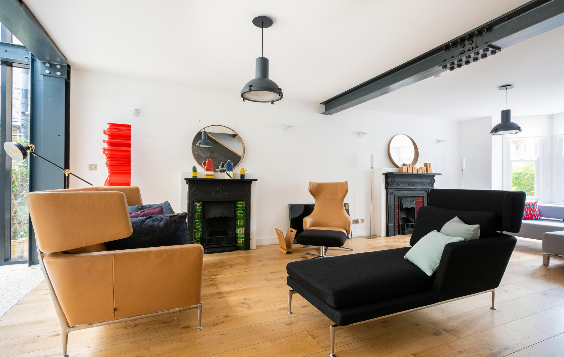 Living room at The Oxford Gardens, White City, London - Citybase Apartments