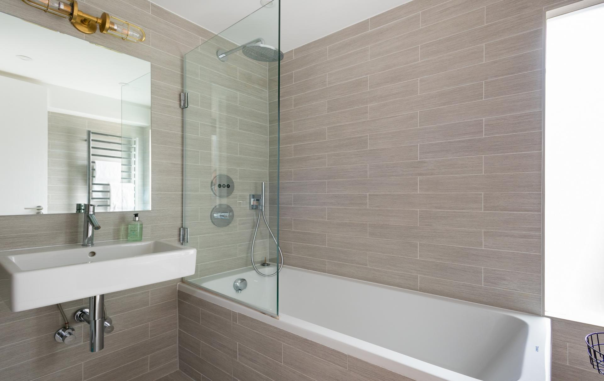 Bathroom at The Oxford Gardens, White City, London - Citybase Apartments
