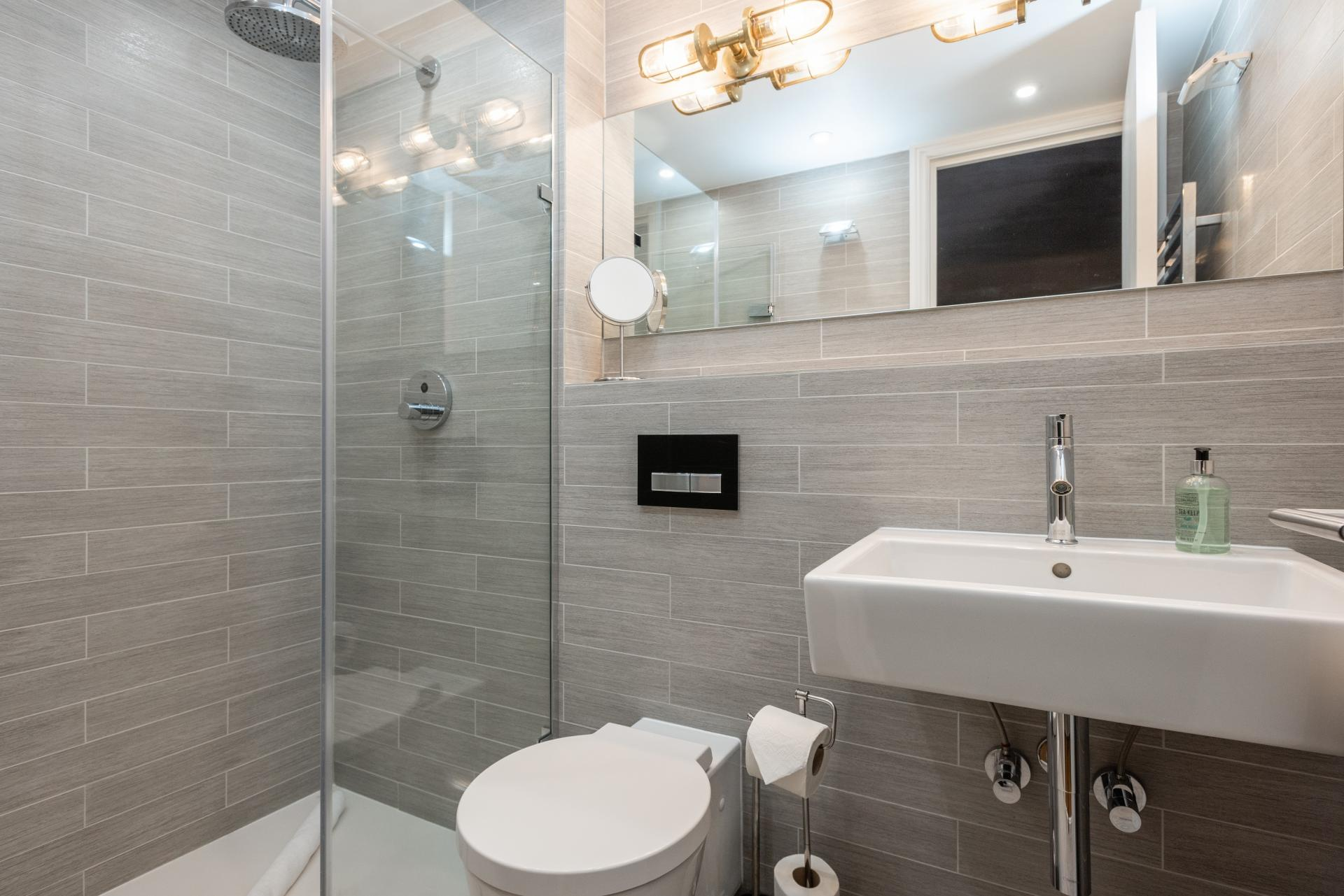 Shower at The Oxford Gardens, White City, London - Citybase Apartments