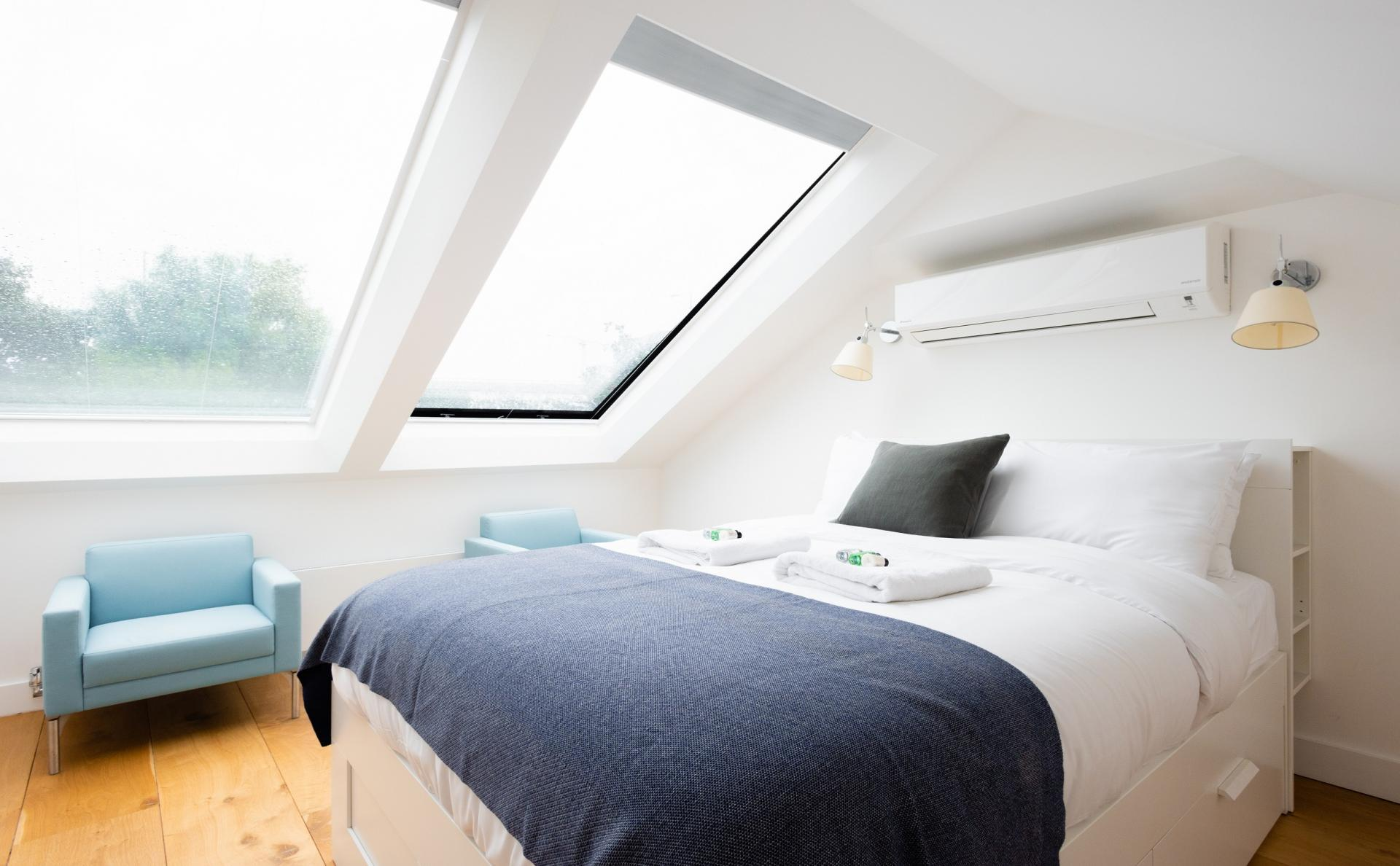 Bedroom at The Oxford Gardens, White City, London - Citybase Apartments