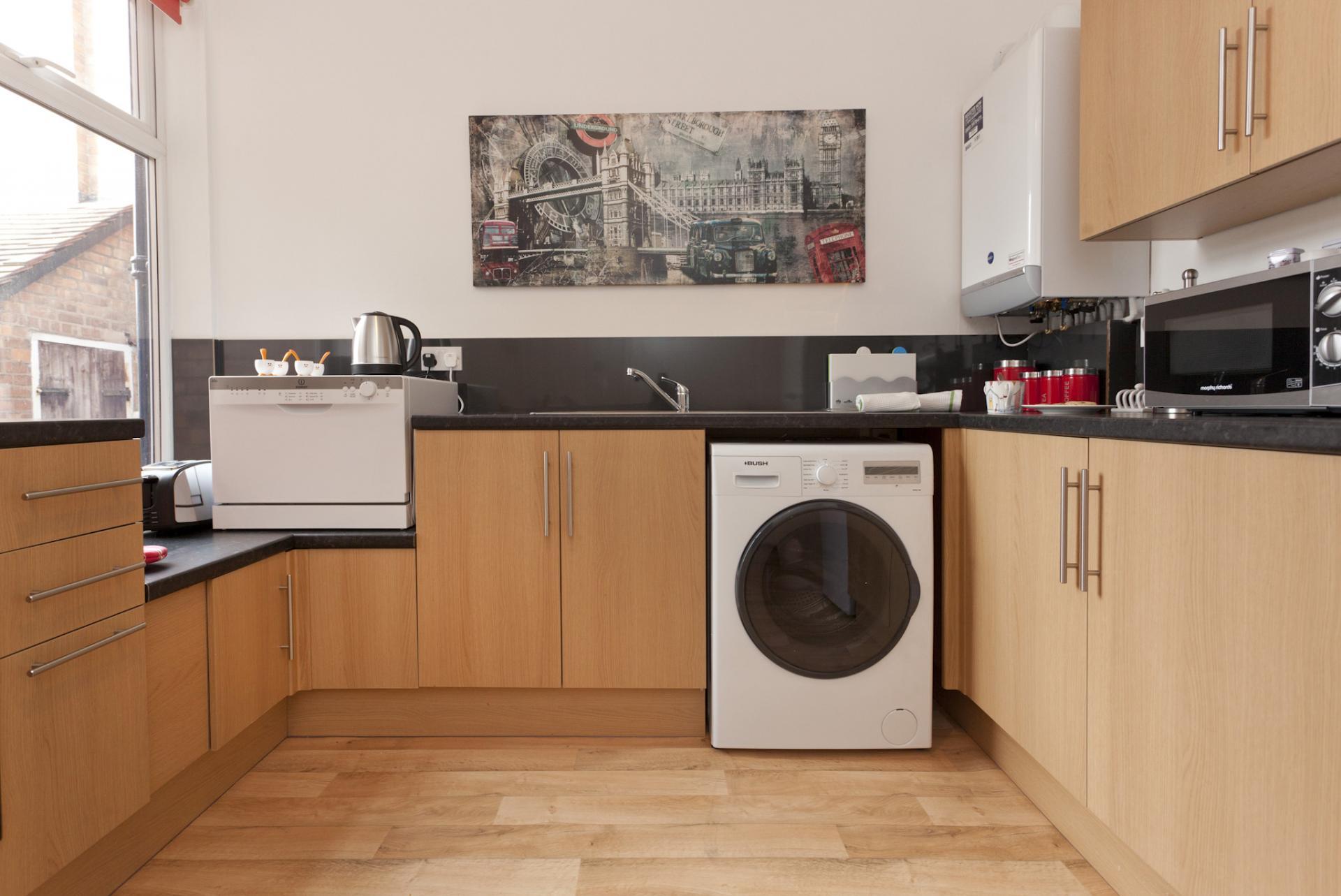 Kitchen at West Bridgford Apartment - Citybase Apartments
