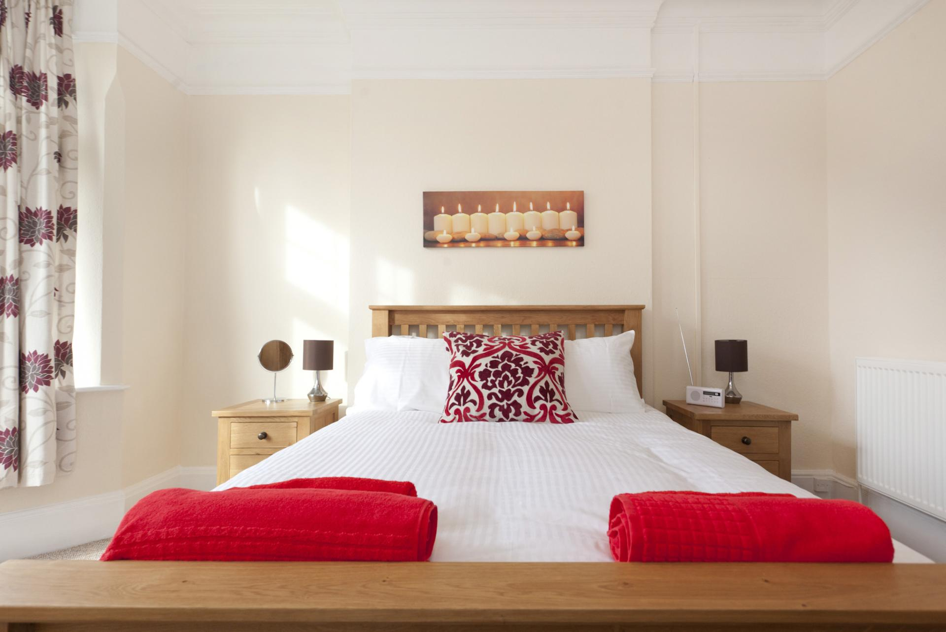 Bedroom at West Bridgford Apartment - Citybase Apartments