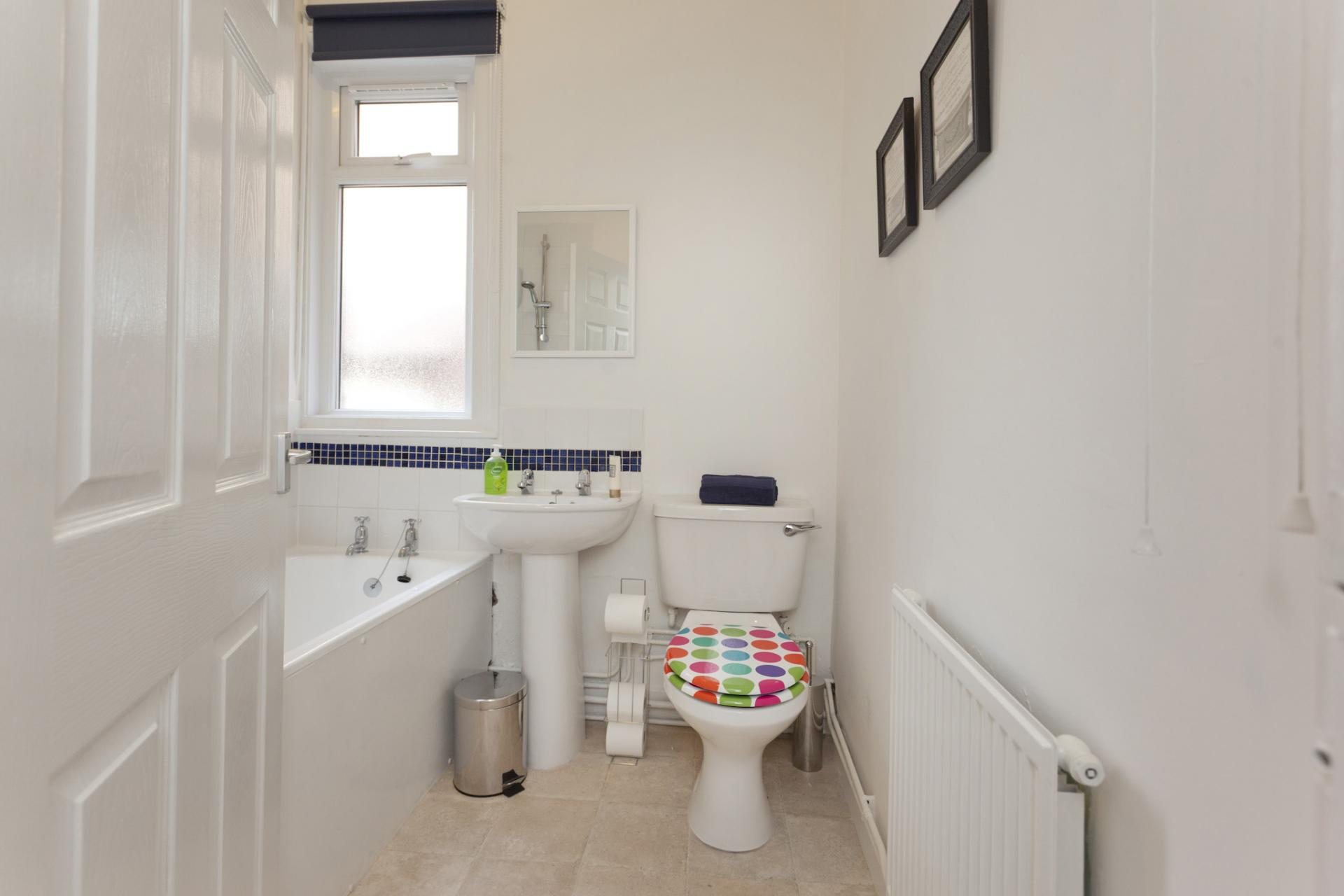 Bathroom at West Bridgford Apartment - Citybase Apartments