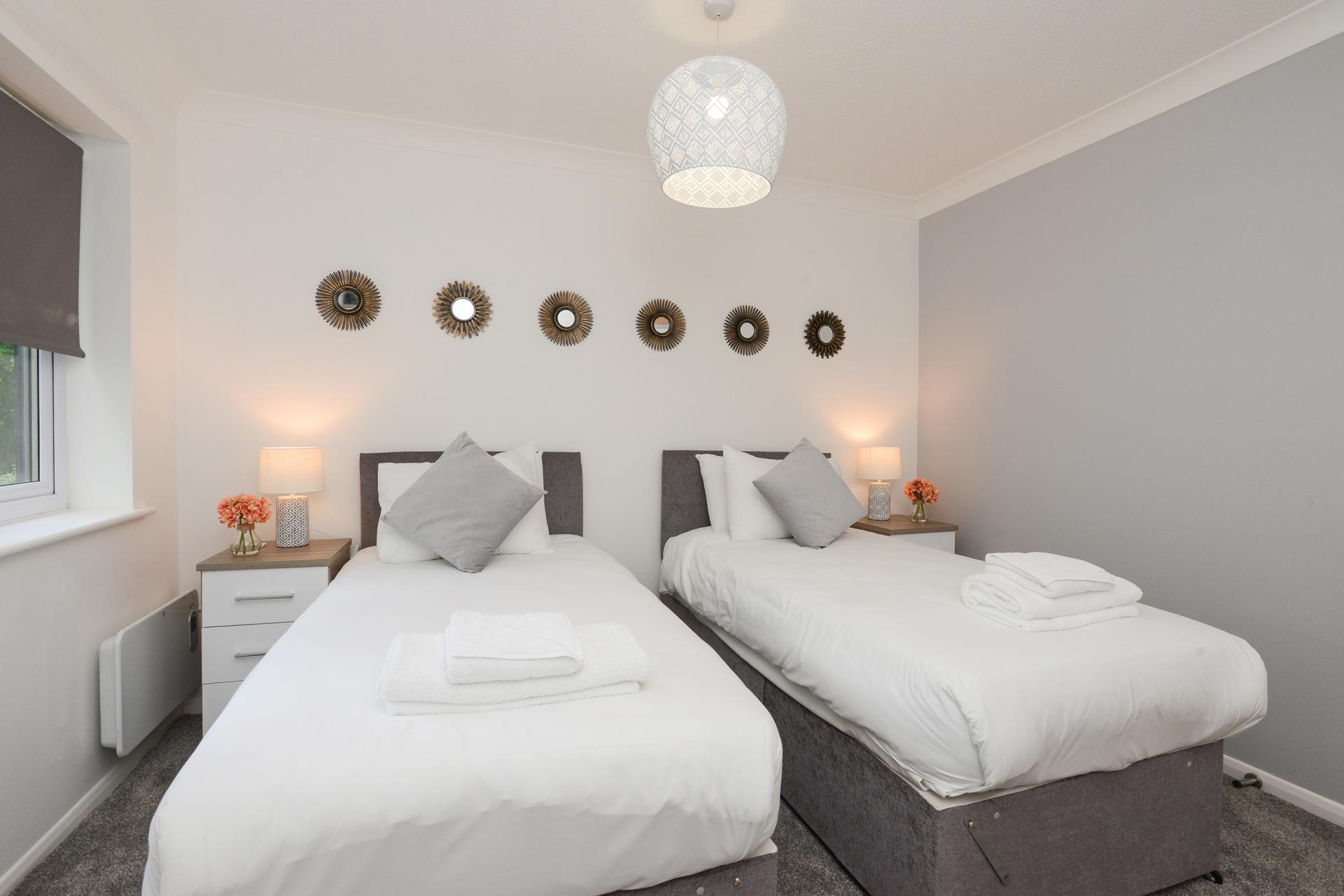 Bedroom at Brook Court Apartment, Radford, Nottingham - Citybase Apartments