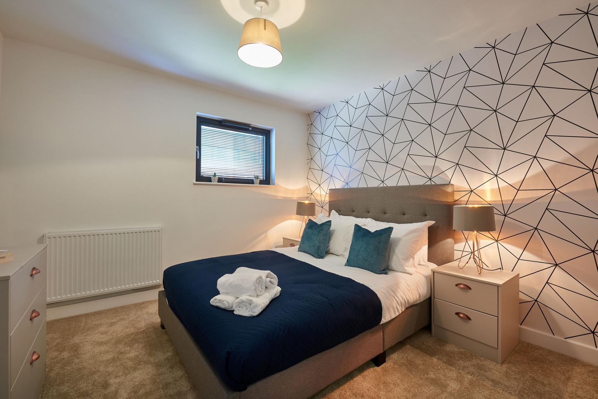 Bed at Tennant Street Apartments - Citybase Apartments