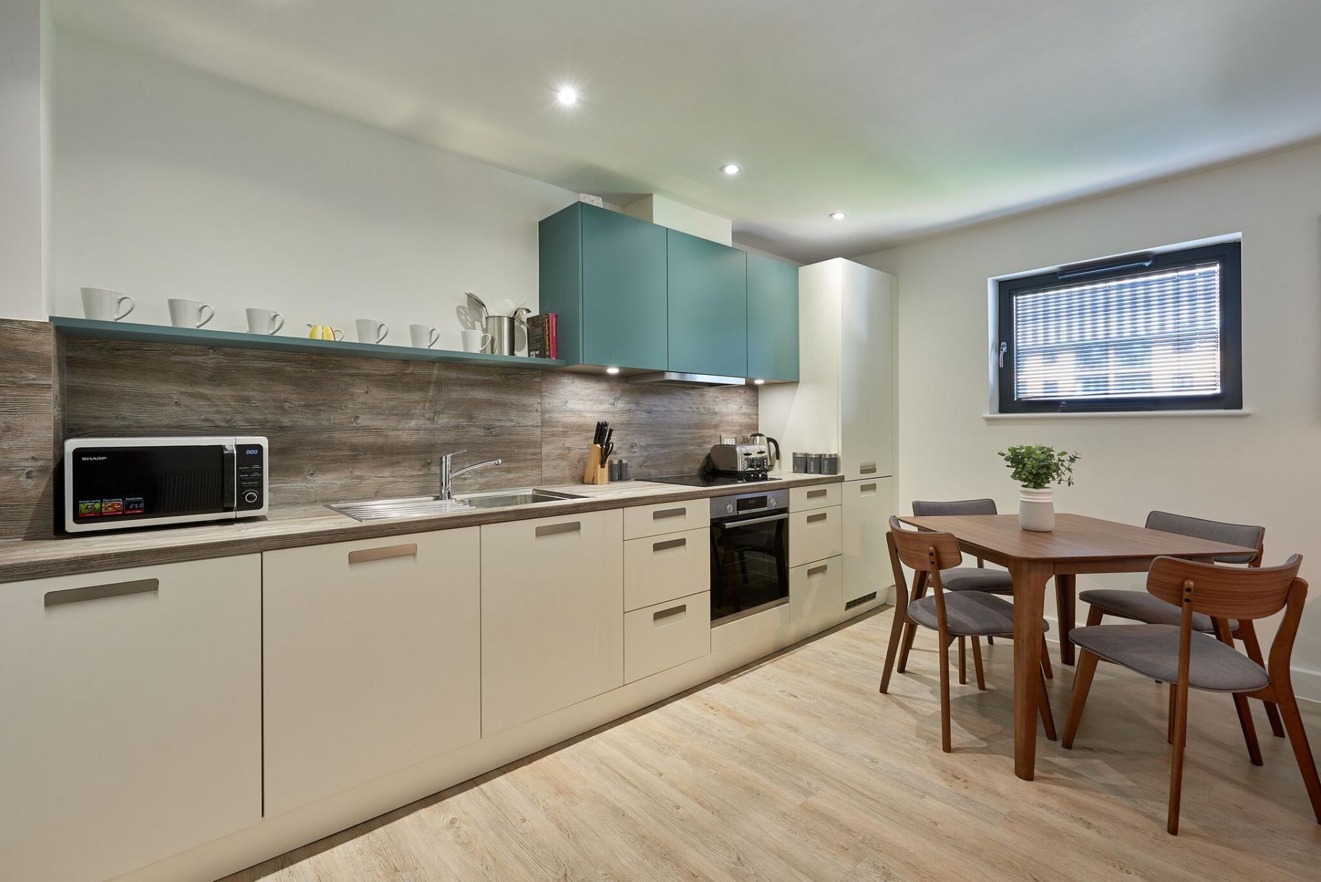 Kitchen at Tennant Street Apartments - Citybase Apartments