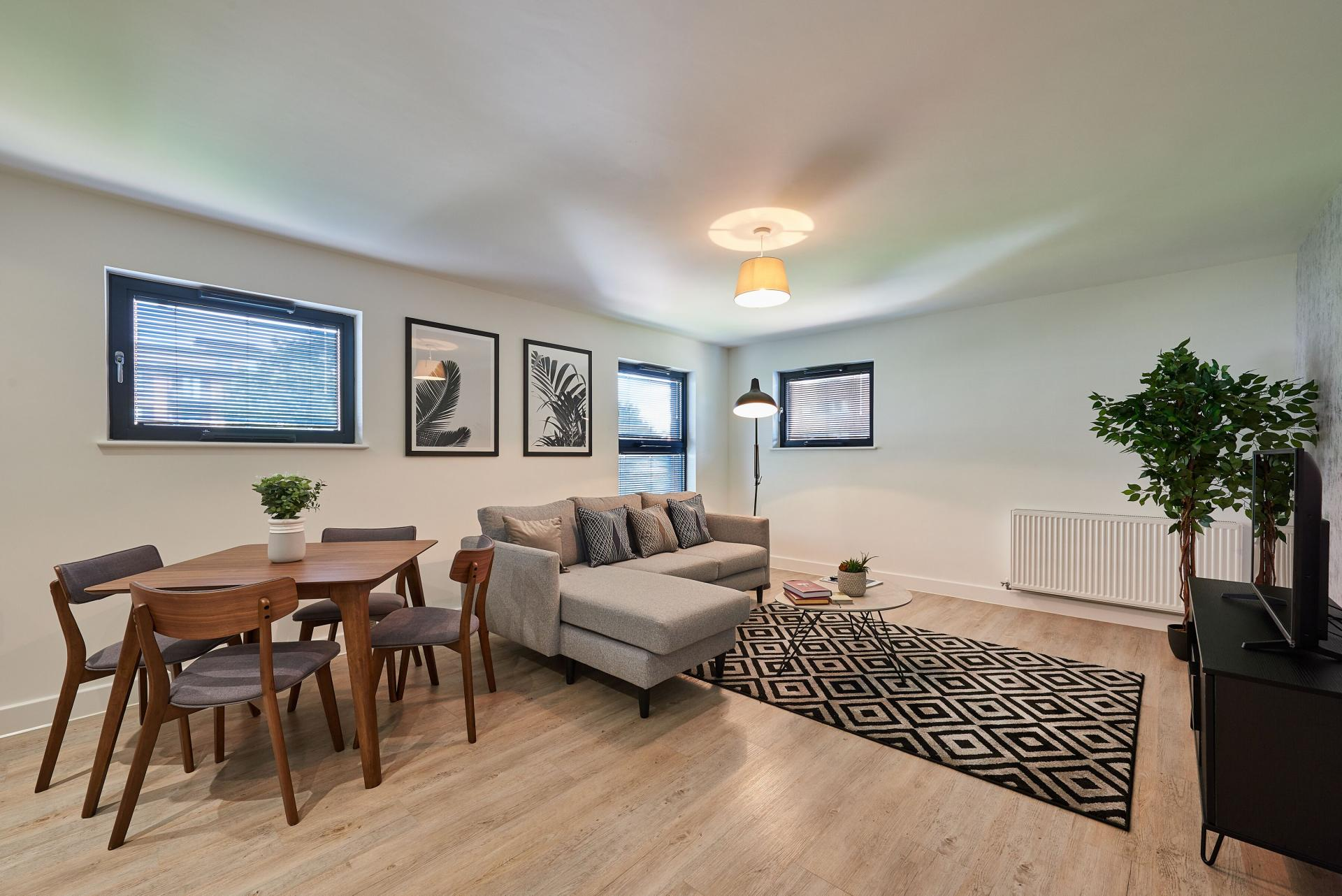 Dining area at Tennant Street Apartments - Citybase Apartments