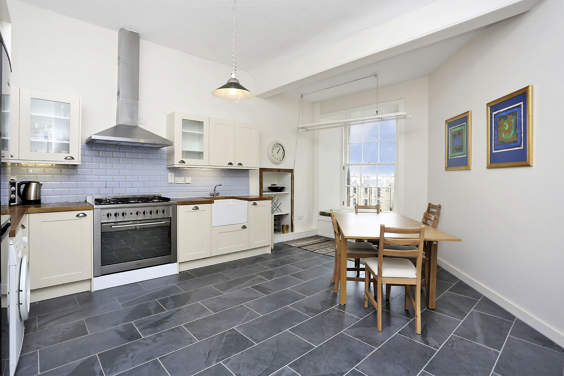 Kitchen at The New Town Apartment, Bonnington, Edinburgh - Citybase Apartments