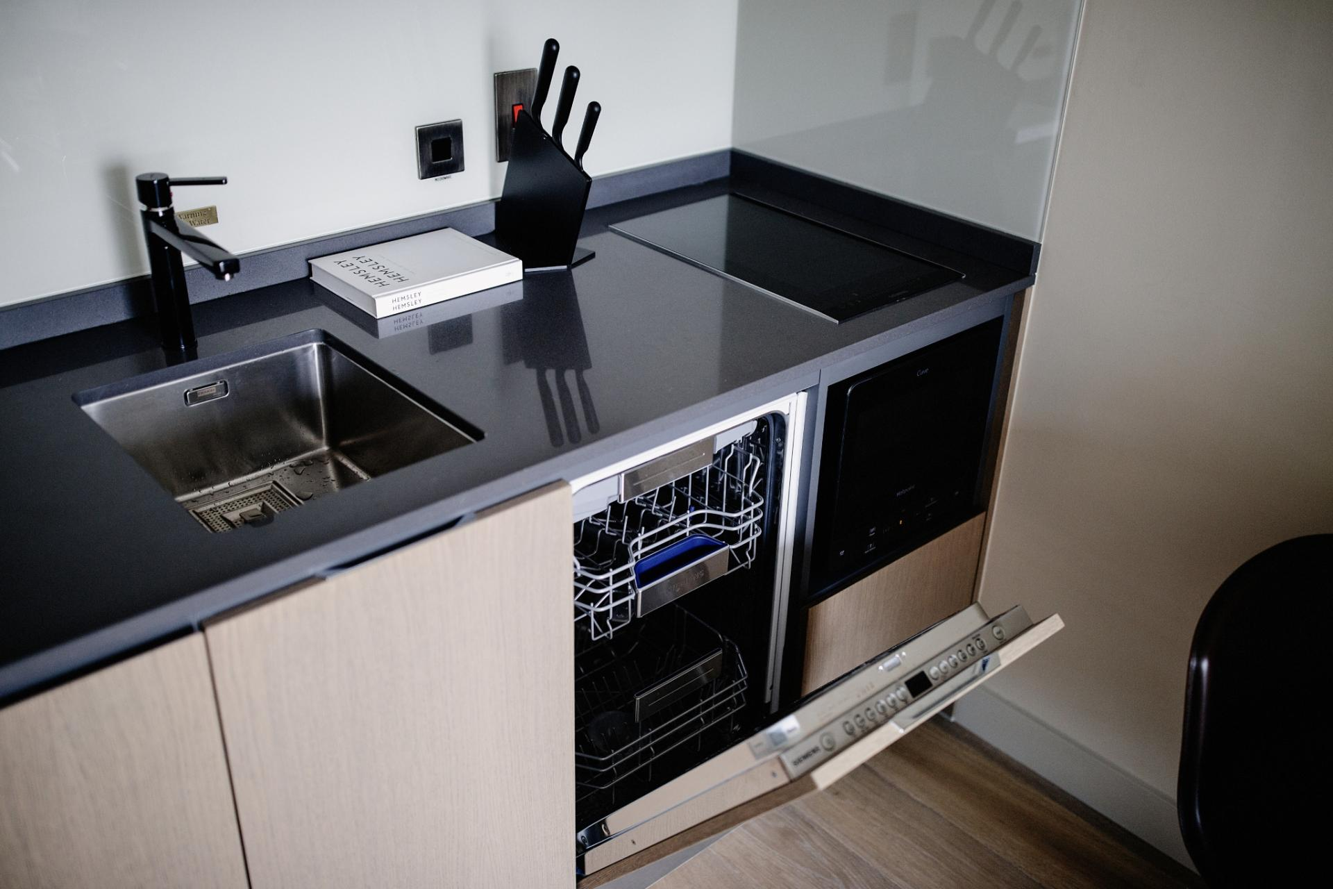 Dishwasher at Park Residence at Herbert Park Hotel - Citybase Apartments