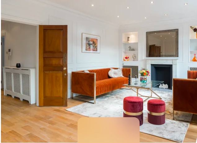 Sofa at Marble Arch - Citybase Apartments