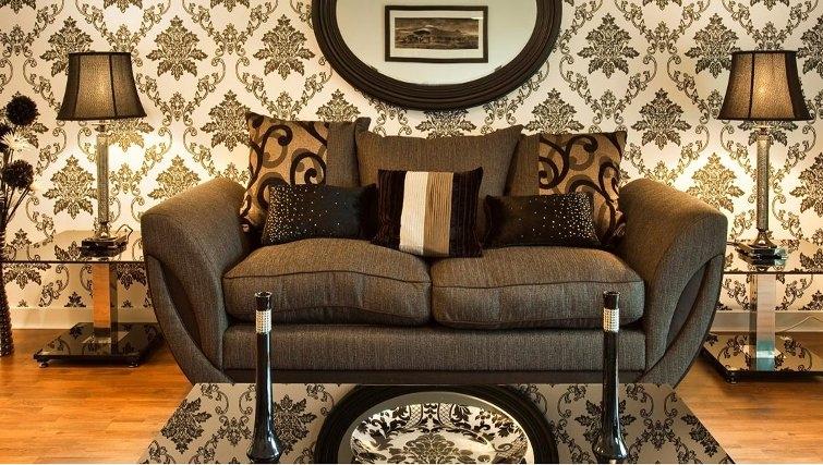 Spacious living area in Oakhill Apartments Edinburgh - Citybase Apartments