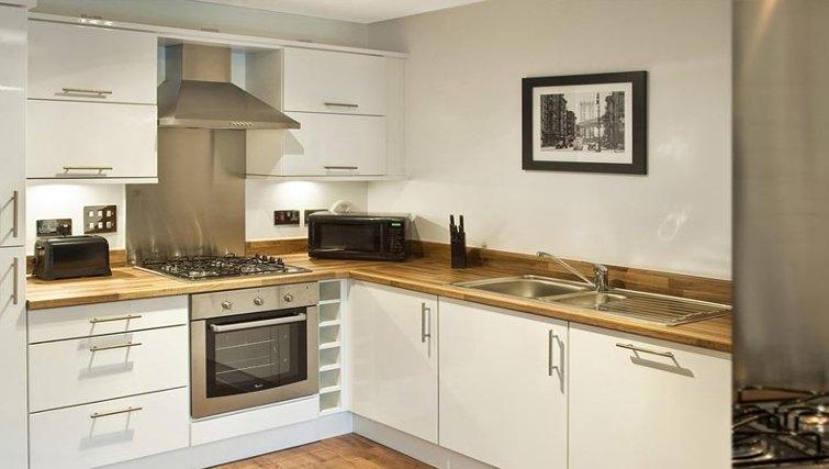 Outstanding kitchen in Oakhill Apartments Edinburgh - Citybase Apartments