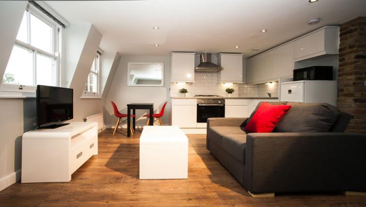 Living space at Hammersmith Town Apartments - Citybase Apartments