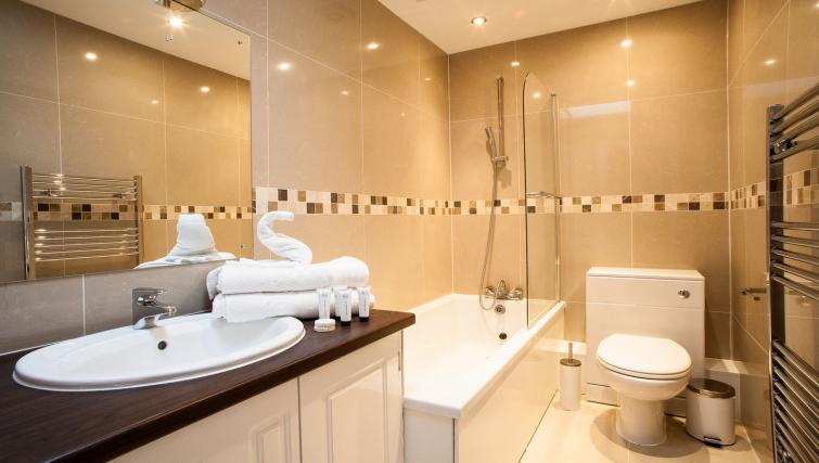 Bathroom at Hammersmith Town Apartments - Citybase Apartments