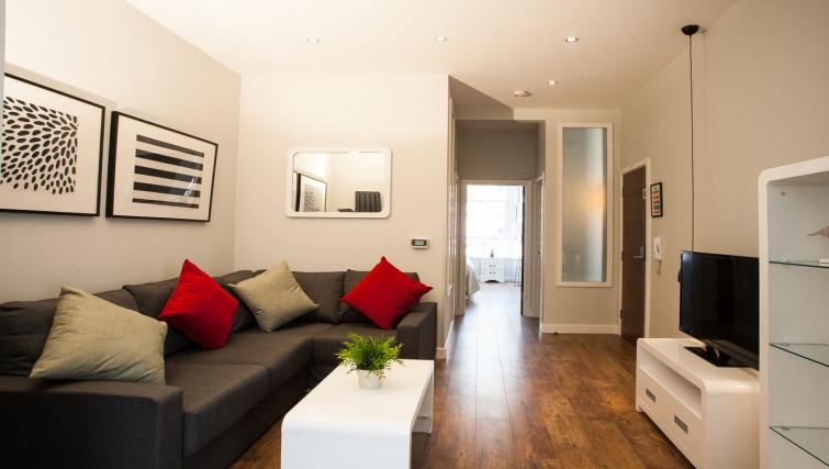 Living room view at Hammersmith Town Apartments - Citybase Apartments
