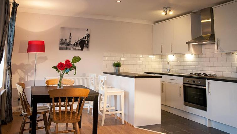 Pristine living area in Hammersmith Town Apartments - Citybase Apartments
