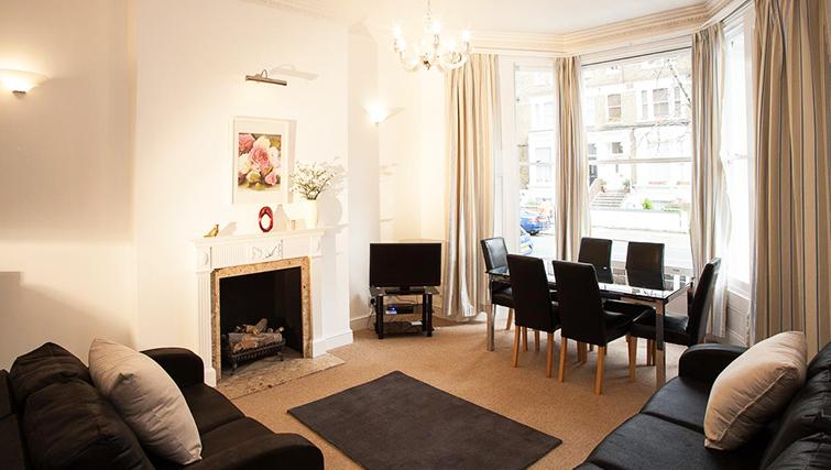 Great living area in Hammersmith Town Apartments - Citybase Apartments