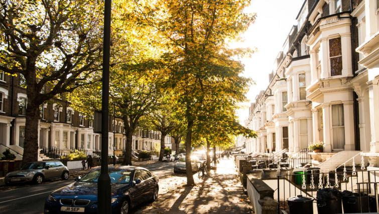 Exterior view at Hammersmith Town Apartments - Citybase Apartments