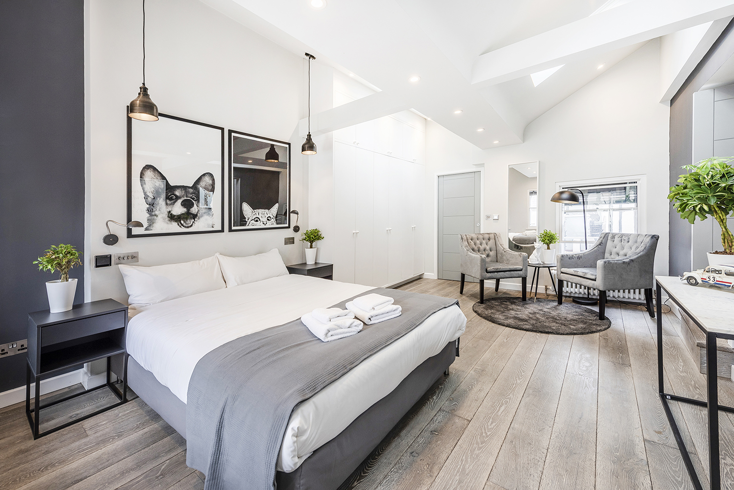 Bedroom at BE: Wardour Street Apartments - Citybase Apartments