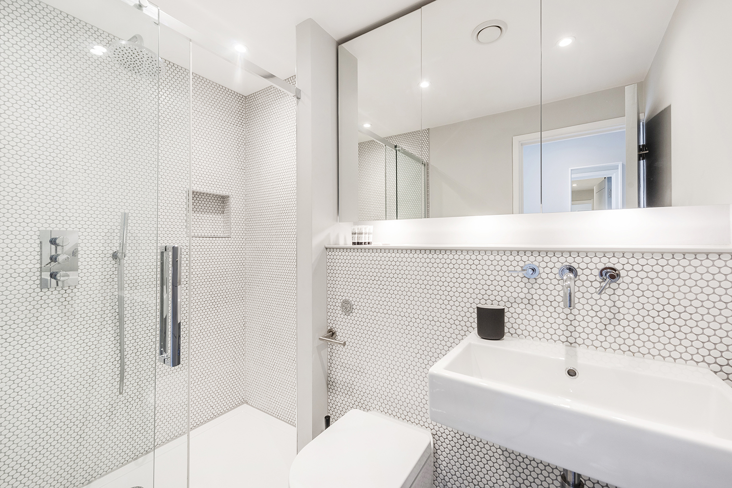 Bathroom at BE: Wardour Street Apartments - Citybase Apartments